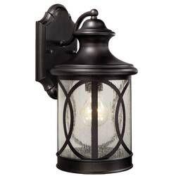 Charlton Home Cajigas Oil Burnished Bronze 1 Bulb Outdoor Wall Lantern Wayfair Outdoor Wall Lantern Outdoor Wall Lighting Wall Lantern