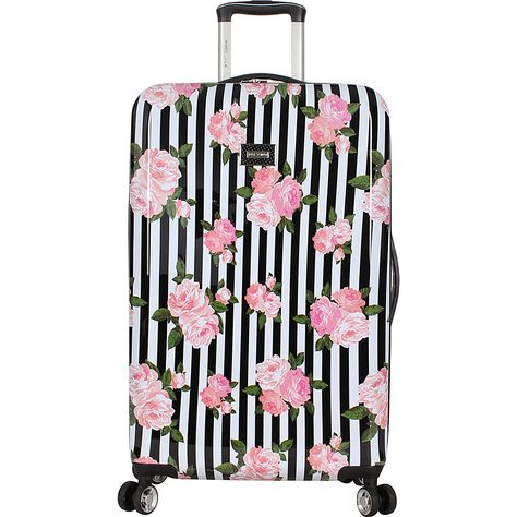 Rose Gold Marble Palms Travel Suitcase Protector Zipper Suitcase Cover Elastic
