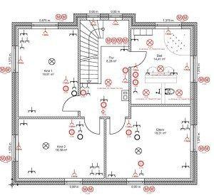 Elektroinstallation Grundriss Eines Hauses Elektroinstallation Haus Elektroinstallation Elektroinstallation Planen