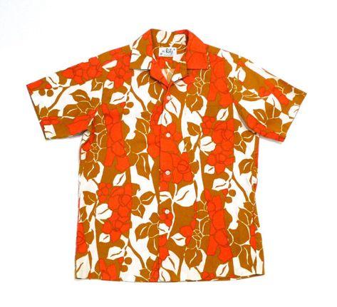 a3c27b0e Royal Hawaiian Shirt 1950s 1960s Vintage Blue and Lime Green Hibiscus  Flower Aloha Shirt Tiki Pleate | Products | Vintage hawaiian shirts, Vintage  outfits, ...
