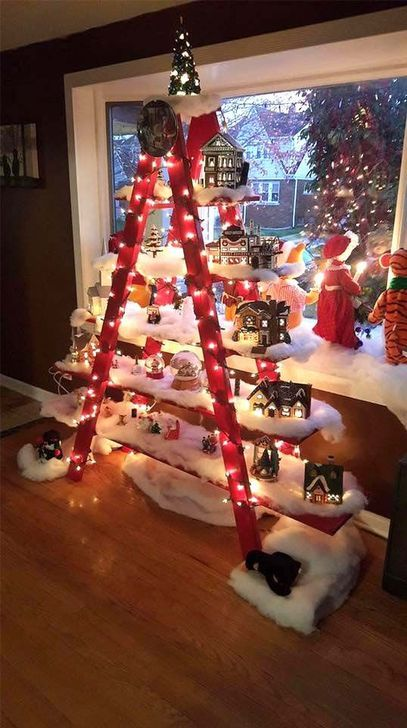 45 Adorable Winter Tree Decorations Ideas That Suitable For You