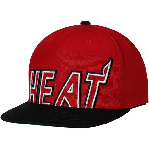 ... reflective snapback adjustable hat f0265 98828  france mens miami heat mitchell  ness black red hardwood classics cropped xl logo snapback adjustable hat b1f7f2e9a591