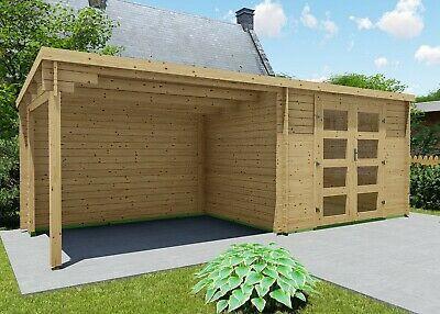 Gartenhaus Flachdach 28mm Geratehaus Holz Anbau 3x2 4 3m Harz Boden Eb28237f18l Ebay Flachdach Gartenhaus Gartenhaus Holz Flachdach Gartenhaus