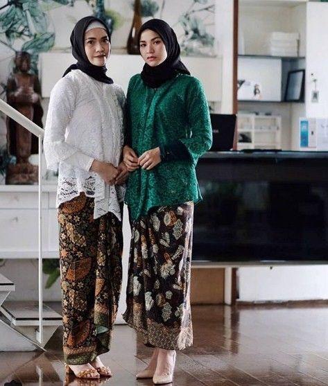 Model Kebaya Kutu Baru Untuk Hijab Asian Fashion Di 2019 Kebaya