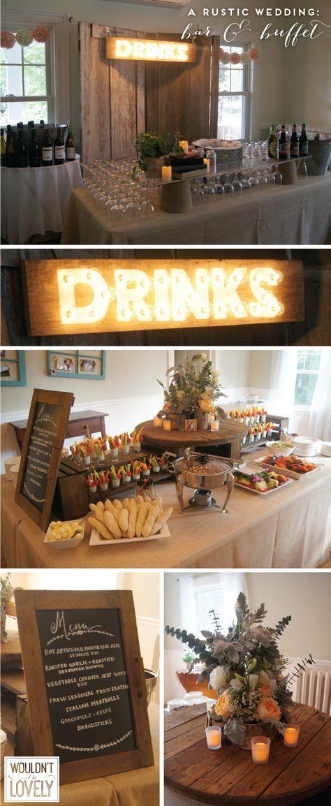 Super Wedding Reception Food Buffet Engagement Parties 47 Ideas Wedding Food Display Rustic Food Display Diy Wedding Food