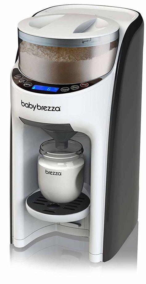 A Baby Brezza formula maker so they can have perfectly made, warmed bottles in less than a minute. This will save their lives during middle of the night feedings, guaranteed. 40 Of The Best Baby Shower Gifts, According To Parents Baby Brezza Formula Pro, Best Baby Formula, Baby Life Hacks, Baby Equipment, Best Baby Shower Gifts, Best Baby Gifts, Baby Necessities, Baby Essentials, Baby Supplies
