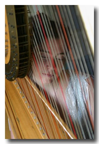 First Class Honours Unique Kent Based Harpist Who Graduated From University College London .