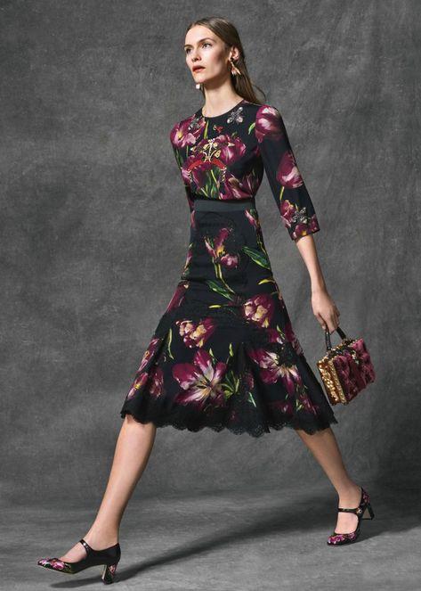 6a7fee7b98a Предлагаю вашему вниманию Lookbook осенне-зимней коллекции pret-a-porter  2016   2017 года от итальянского модного дома Dolce amp Gabbana.