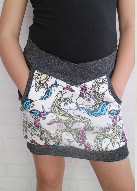 Doris Skirt PDF Sewing Pattern