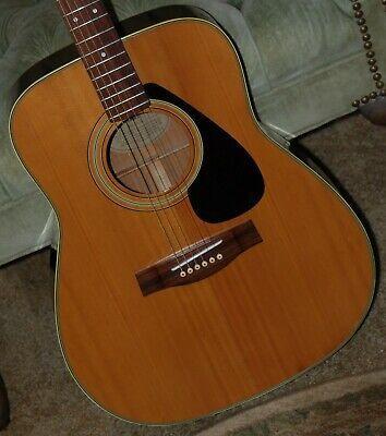 Vintage Yamaha Fg 335 Jumbo Dreadnought Acoustic Guitar In 2020 Guitar Acoustic Guitar Acoustic