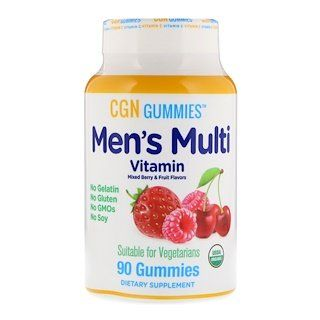 California Gold Nutrition Men S Multi Vitamin Gummies No Gelatin No Gluten Mixed Berry And Fruit Flavor 90 Gummies Organic Lemon Juice Fruit Flavored Vitamins
