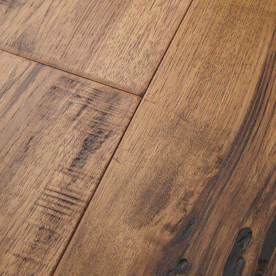 Maison 7 Engineered Hickory Hardwood Flooring In Champagne
