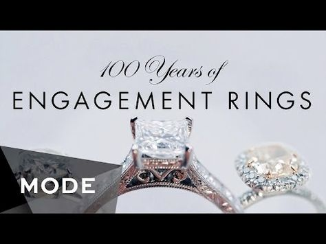 See 100 Years Of Engagement Ring Trends In Less Than Three Minutes《-- I personally loved the 20's and the 30's....