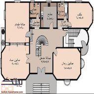 مخططات منازل سعودية House Layout Plans Family House Plans Model House Plan