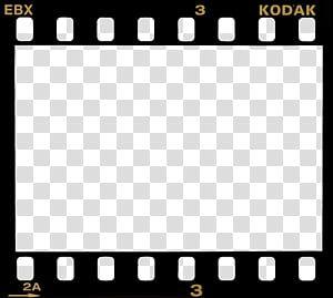 Film Borders Frames Black Kodak Film Border Transparent Background Png Clipart Transparent Background Frame Template Clip Art