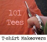 tshirt makeovers