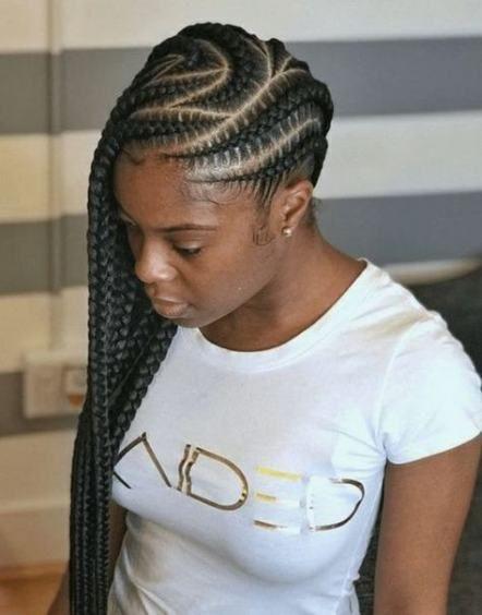 17 Ideas For Braids Hairstyles African American Scalp Feed In Braids Hairstyles Braids For Black Hair Lemonade Braids Hairstyles