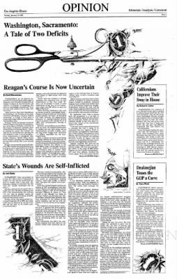 9 Jan 1983 Page 118 The Los Angeles Times At Newspapers Com Editorial Illustration Los Angeles Angel