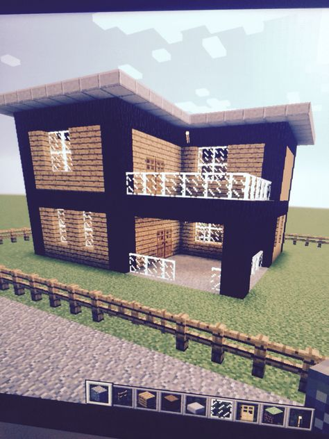 Cute Easy House #8 Of My World Minecraft Furniture