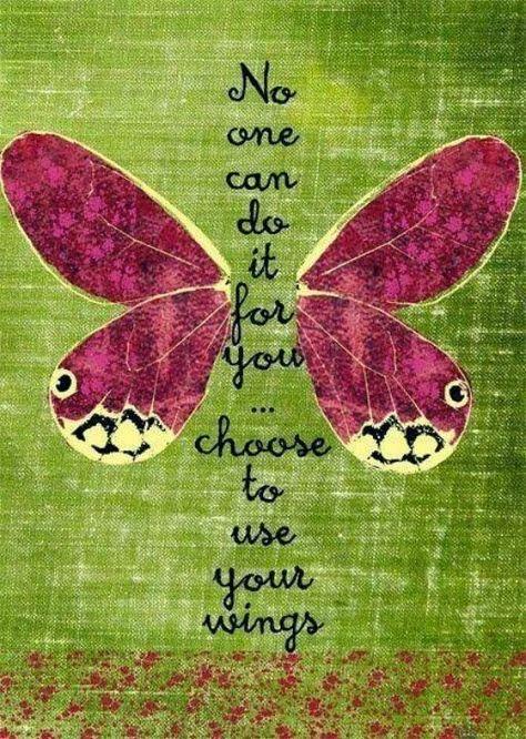 No one can do it for you, choose to use your wings.                      #entrepreneurship #emprendedurismo #entrepreneurs #emprendedores