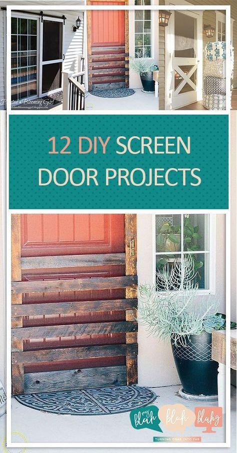 12 Diy Screen Door Projects Screen Door Screen Door Projects