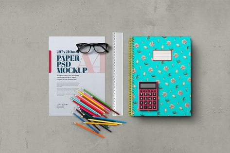 Back to School Mockup Scene by Easybrandz2 on Envato Elements