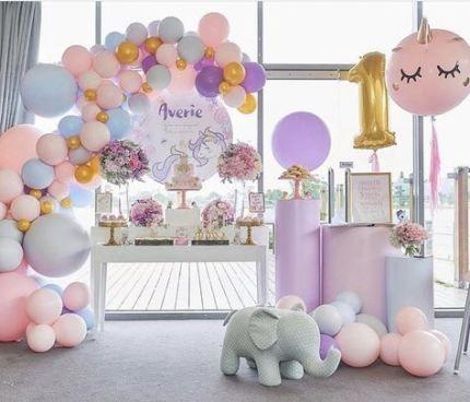 Birthday Party Decoracion 1 Year Old 39 Ideas Girls Birthday Party Girls Birthday Party Themes Birthday Decorations