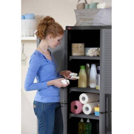 Home Improvement Utility Cabinets Adjustable Shelving Utility