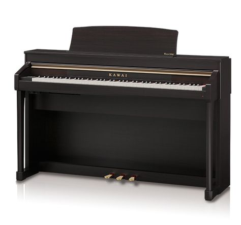 The Kawai CA67 features Shigeru Kawai Grand Piano sound sampling, a Grand Feel II Action and the exclusive Virtual Technician. Quality and innovation meet to provide a great piano playing experience.