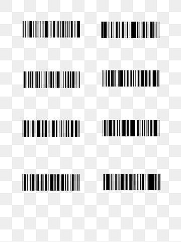Bar Code White Barcode Png