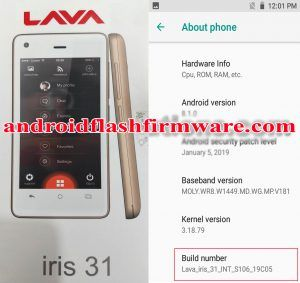 Lava iris 31 Frp Bypass Reset File | 12MB Only Android 8 1 0 | All