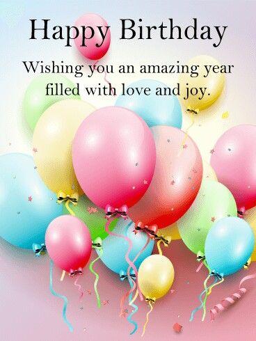Happy Birthday! | Birthday wishes | Birthday wishes, Happy