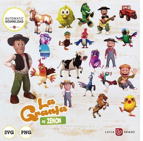 List of Pinterest la granja de zenon personajes imprimibles pictures ...