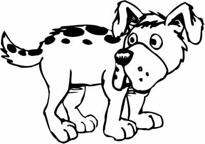 21 Luxury Collection Of Cartoon Dogs Coloring Page