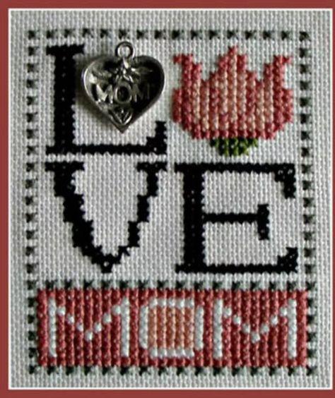 10 Cross Stitch Patterns to Celebrate Mom