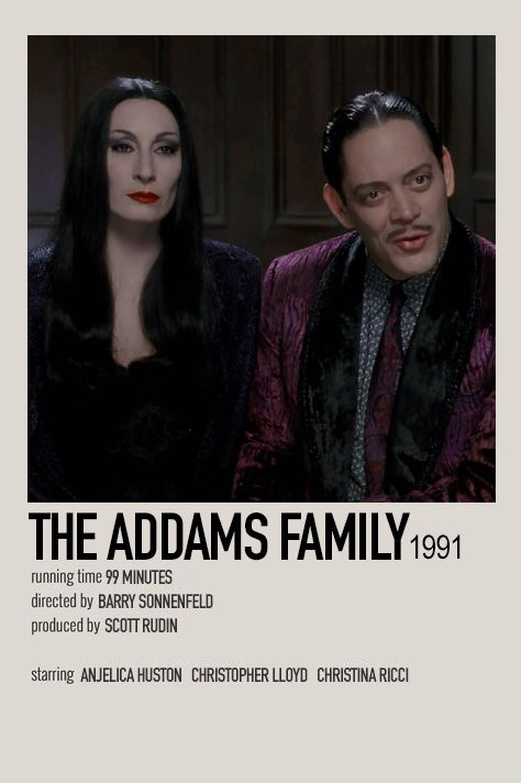 The Addams Family by Jessi
