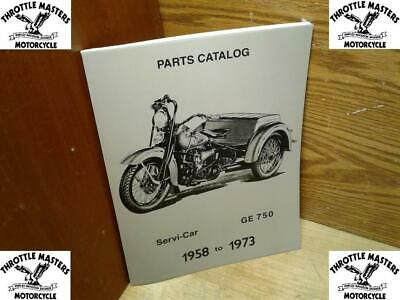Details About Spare Parts Catalog Book Manual Etc For Harley Servi Car 1958 1973 In 2020 With Images Parts Catalog Harley Panhead Book Catalogue