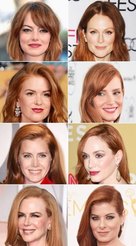 Hair Brown Red Isla Fisher 64 Ideas Red Hair Makeup Shades Of