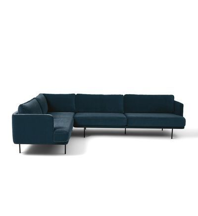 Am Pm Canape Angle Antoine Velours In 2020 Couch Furniture Home Decor