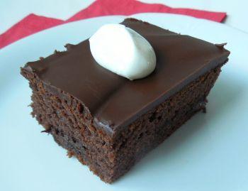 Recept na jogurtový koláč s čokoládou krok za krokem - Vaření.cz