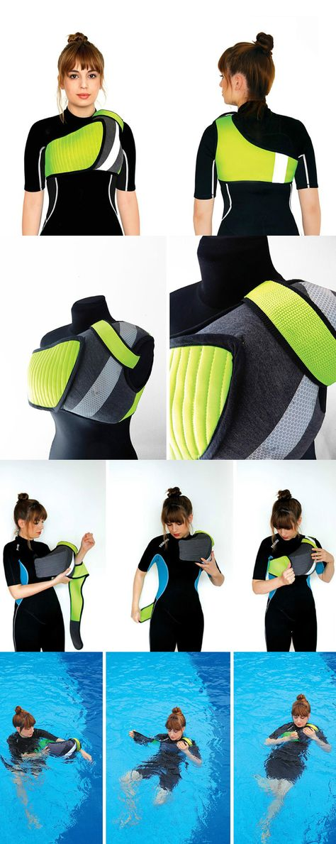 Lifejackets can mean the difference between life or death but the cumbersome fit and general discomfort, especially in the water, discourage users from wearing them. Until now, that is. The IUW is one that won't cramp your bod or your style! Read Full Story at Yanko Design