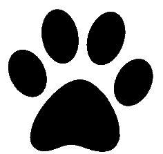 dog paw print clip art paw prints clipart paw gif clip art rh pinterest co uk dog paw print clip art vector dog paw print clip art vector