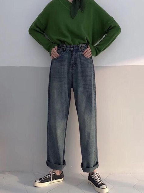 BOILED JEANS COLLEGE ULZZANG