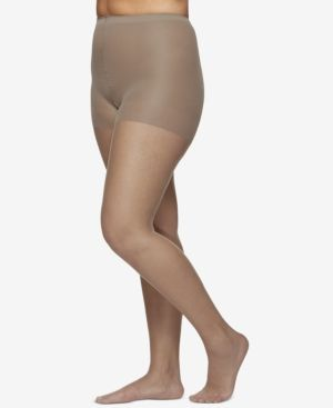 6a550e234 Berkshire Women s Plus Size Ultra Sheer Control Top Hosiery