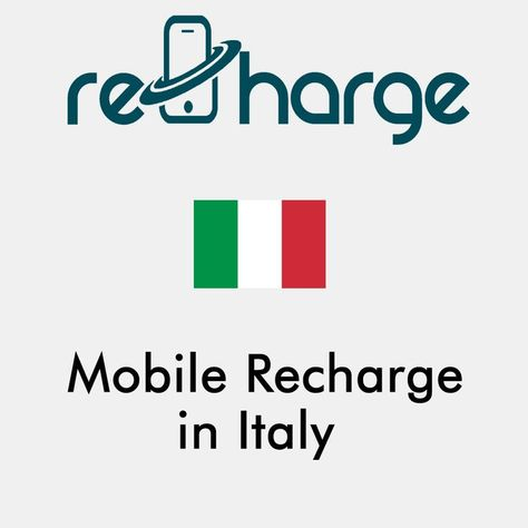 Mobile Recharge in Italy. Use our website with easy steps to recharge your mobile in Italy. Mobile Top-up Instant & Worldwide. You may call it mobile recharge, mobile top up, mobile airtime, mobile credit, mobile load or whatever you want #mobilerecharge #rechargemobiles https://recharge-mobiles.com/