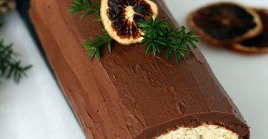 Buche Au Chocolat Et A L Orange Recette Facile Recette Buche Chocolat Orange Comment Preparer Un Gateau Buche Au Chocolat