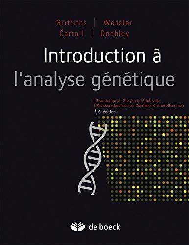 Titre De Livre Introduction A L Analyse Genetique Telechargez Ou Lisez Le Livre Introduction A L Analyse Genetique De Author Au Form Ebook Books Introduction