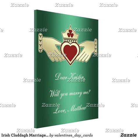 irish marriage proposal