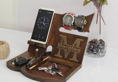 Uncommon Gift For Men Who Have Everything Expensive Gifts Office Tablet Stand Guy Birthday Gifts Entryway Organizer Best Gifts For Him 2020
