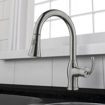 Costco Ancona Perla Pullout Kitchen Faucet  Kitchen Ideas Interesting Costco Kitchen Faucet Design Decoration